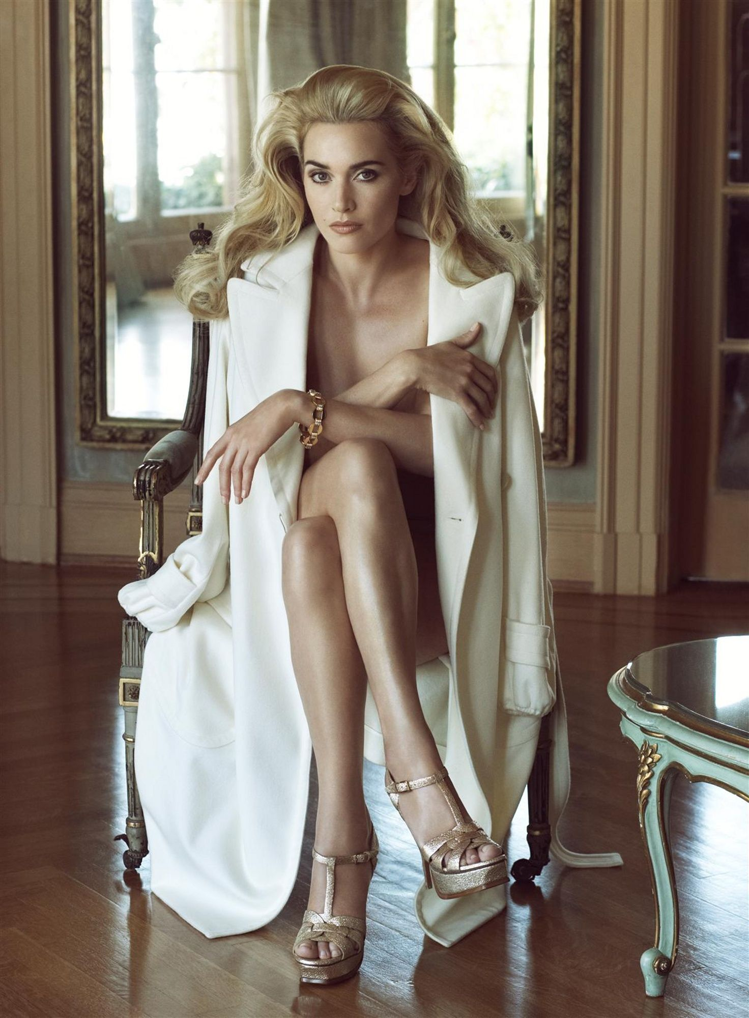 Kate Winslet by Steven Meisel, Vanity Fair December, 2008