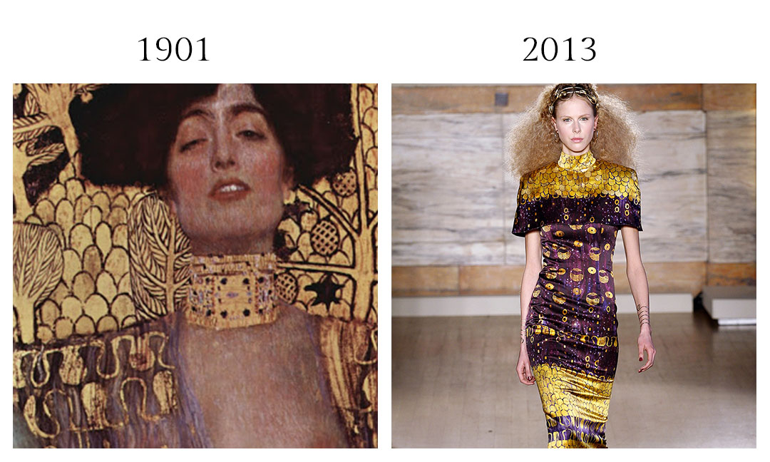 Gustav Klimt and L'Wren Scott