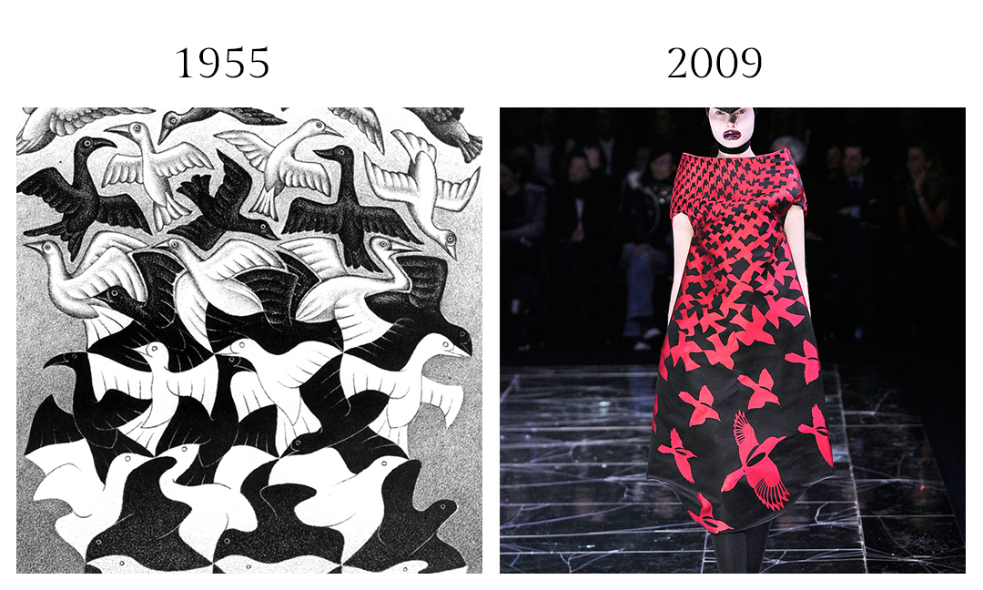 M.C. Escher and Alexander McQueen
