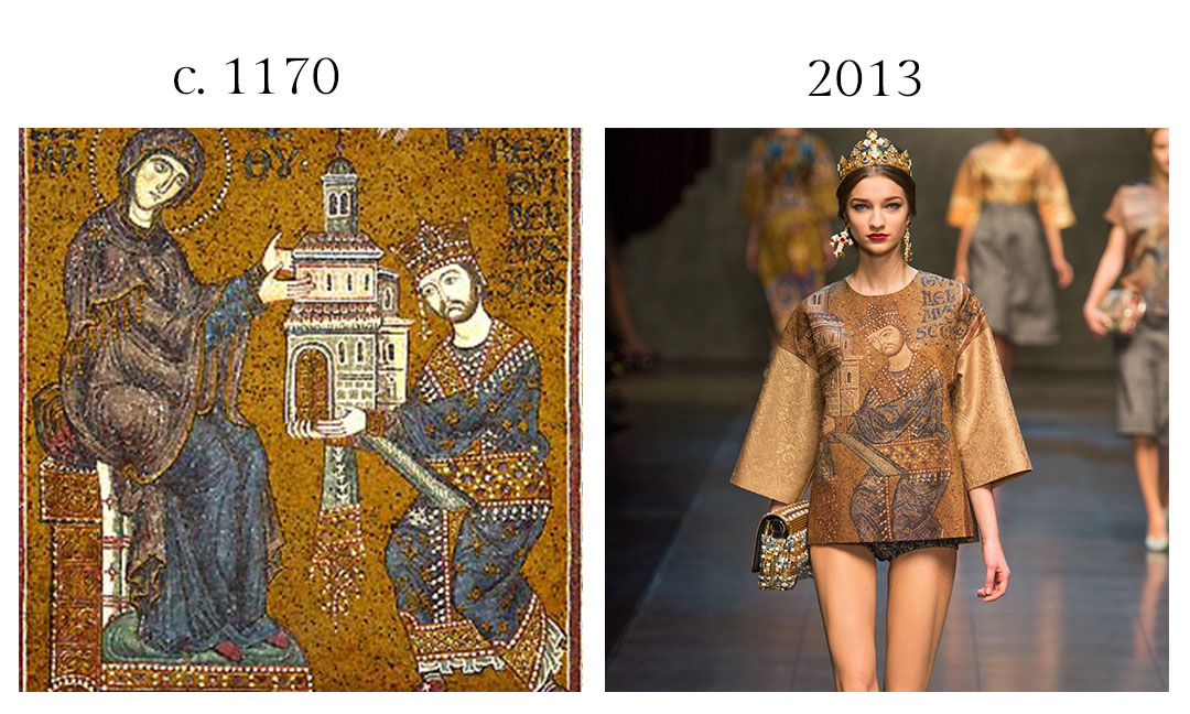 Monreale Cathedral and Dolce and Gabbana