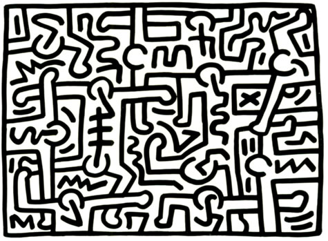 Untitled by Keith Haring, 1988