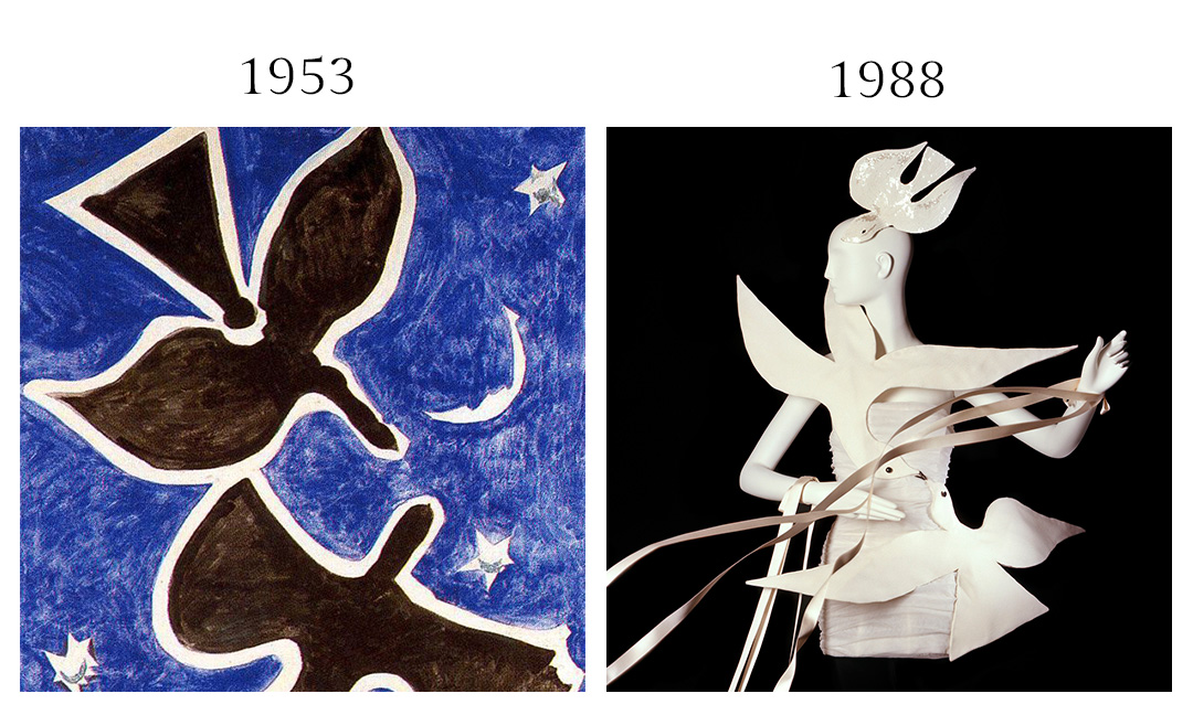 Georges Braque and YSL