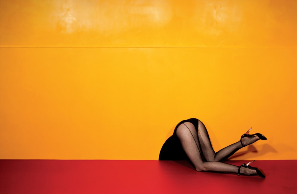 Charles Jourdan Spring 1979 Ad Campaign by Guy Bourdin
