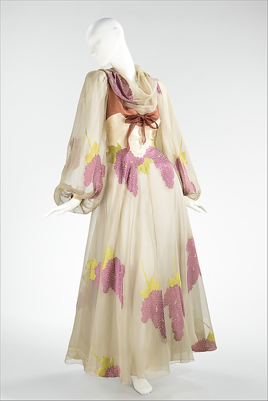 Evening Dress by Charles James, 1944, Housed at The Costume Institute at The Metropolitan Museum of Art