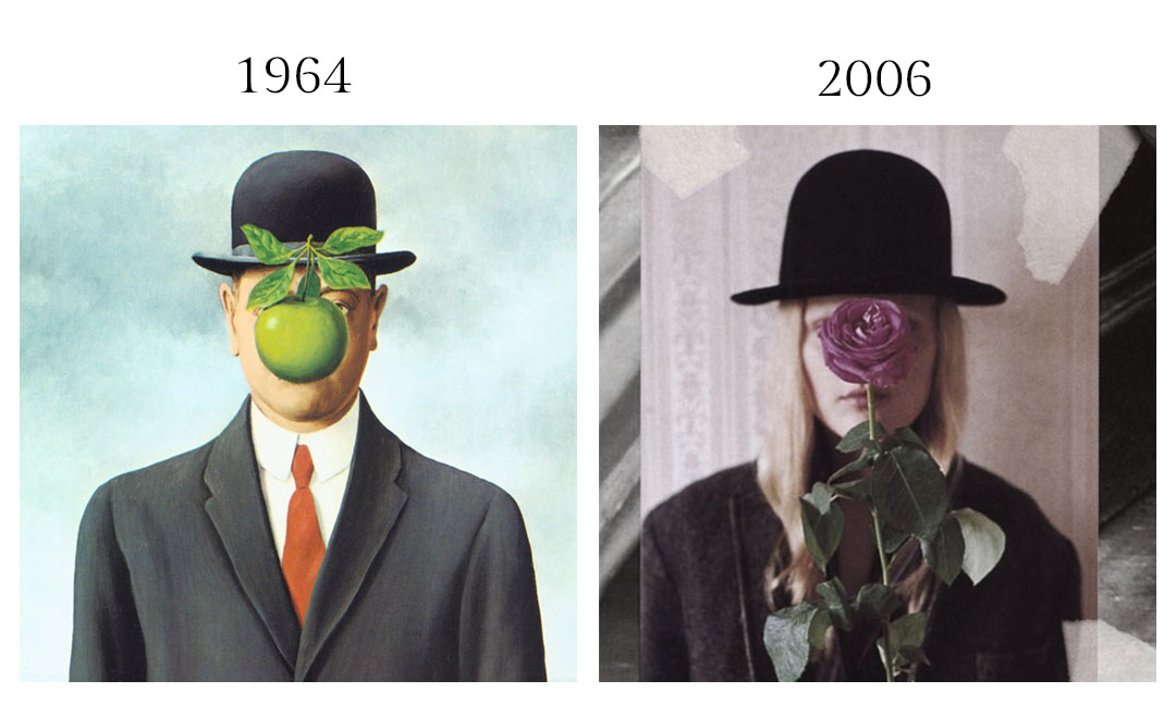 Rene Magritte and Tim Walker