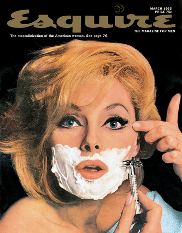 Virna Lisi by Jean-Paul Goude for Esquire Magazine March 1965
