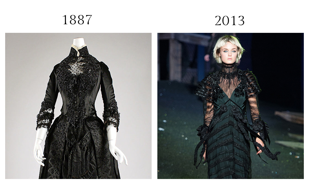 Victorion Gown and Marc Jacobs