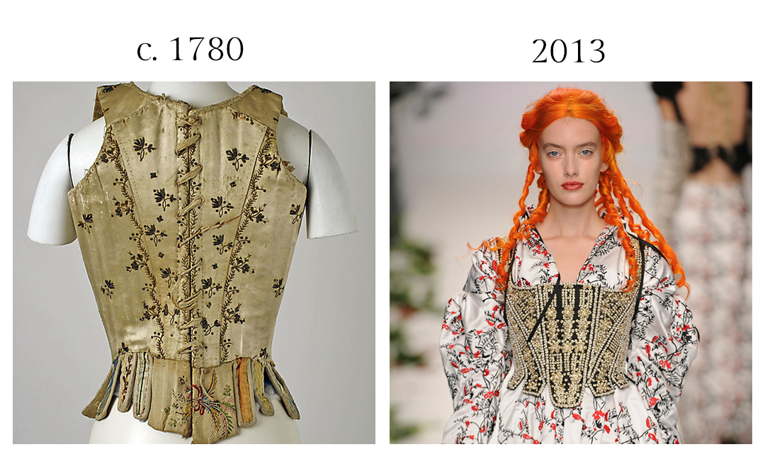 18th-century Stay and Meadham Kirchhoff
