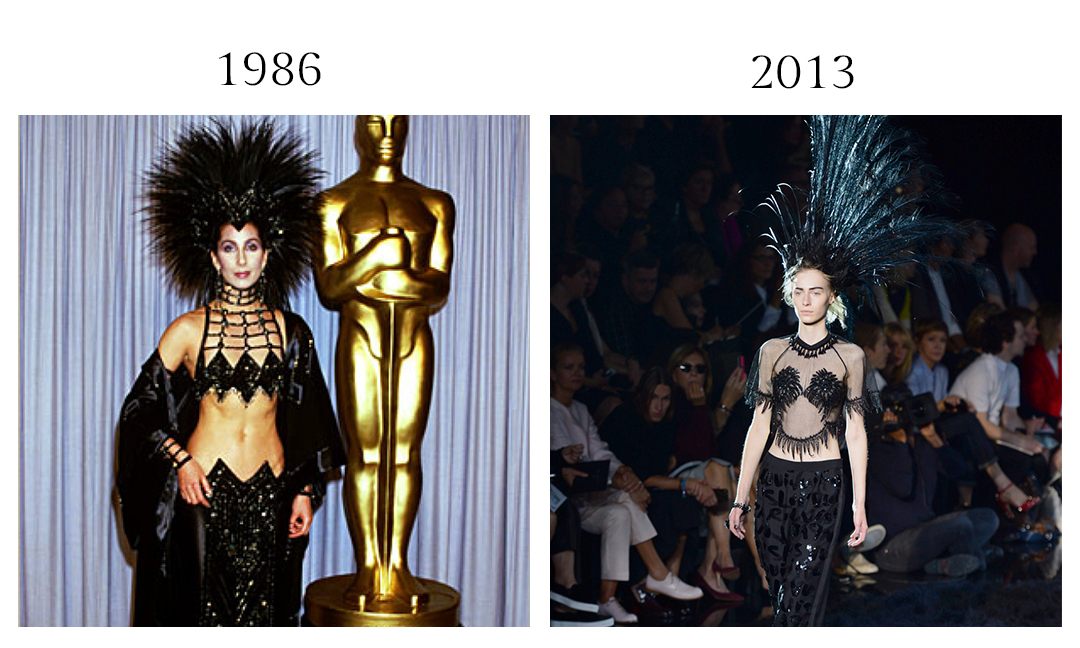 Bob Mackie and Marc Jacobs