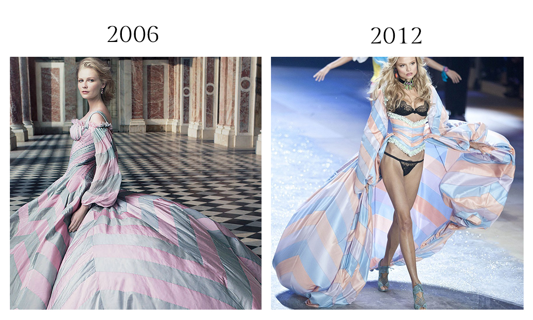 Alexander McQueen and Victoria's Secret