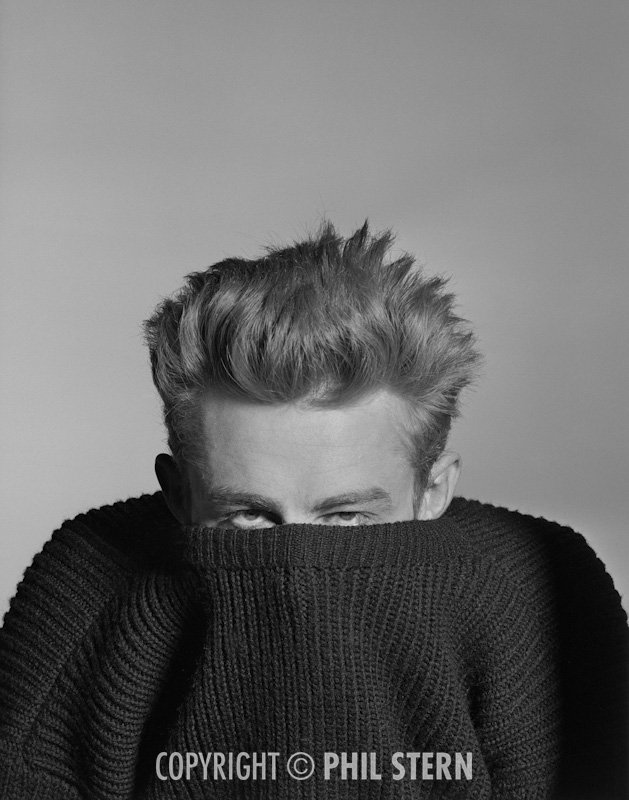 James Dean by Phil Stern, 1955